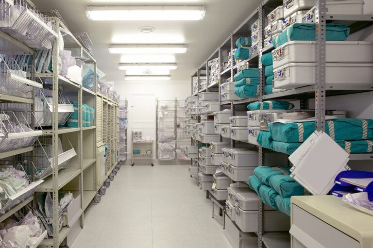 hospital supply closet